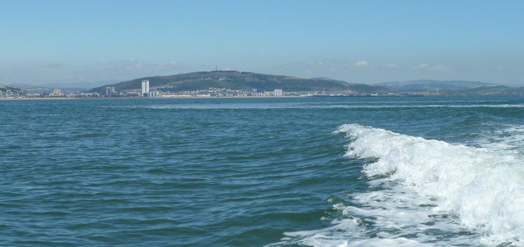 Leaving Swansea