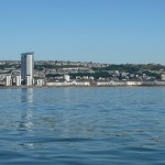 Swansea from the sea